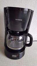 "Severin KA 4191 Kaffeeautomat mit Timer ""Select"", schwarz in OVP"