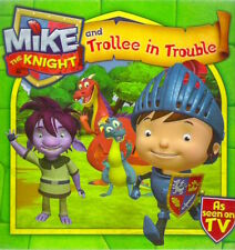 MIKE THE KNIGHT & TROLLEE IN TROUBLE New pb Childs Classic BBC TV Simon Schuster