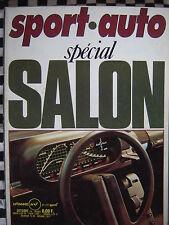 revue SPORT AUTO 1976 / MATRA BAGHEERA S / ALFASUD SPRINT / GRAND PRIX MONZA