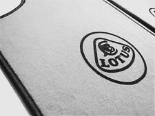 Gray velours carpet set for Lotus Esprit S1 S2 S3 SE 1976-1993 Logo black