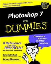 Photoshop 7 For Dummies, Deke McClelland, Barbara Obermeier | Paperback Book | G