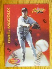 1994 SPORTFLICKS CARD # 193 GREG MADDUX      (SAMPLE CARD )