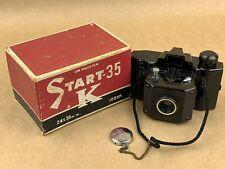 Start 35 K Ikkosha Vintage Black Bakelite Subminiature Camera w/ Original Box