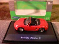 1/87 Welly Porsche Boxster S Cabrio rot 73118