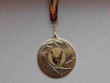 Pokale & Preise Bowlen Pokal Kids Medaillen 50mm mit Emblem Deutschland-Bändern Turnier E237