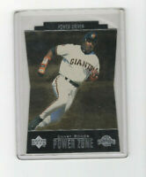 1998 Upper Deck Special F/X Power Zone Power Driven Barry Bonds! Giants OF RARE