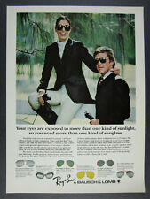 1978 Ray-Ban Sunglasses 6 Types of Lenses vintage print Ad