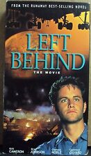 LEFT BEHIND: THE MOVIE VHS early-00's Christian apocalypse Kirk Cameron