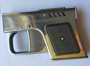 INTREP IND LOCALA Pistol Shaped Gasoline vintage Cigarette Lighter cigar tobacco