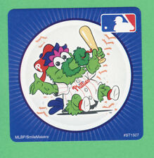 10 Philadelphia Phillies Mascot - Large Stickers - Major League Baseball