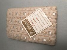 Vintage embroidery &  ribbon trim made in Yugoslavia 13.5 Meters 2 cm wide.
