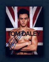 Tom Daley Signed Autographed 8x10 Photo British Oympic Diver COA