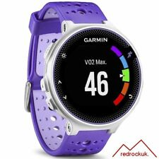Garmin Forerunner 230 Colour Screen ANT+ GPS Sports Running Watch - Purple/White