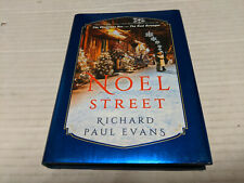 Noel Street by Richard Paul Evans (2019, Hardcover) SIGNED 1st/1st