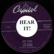 Les Baxter POP 45 (Capitol 1966) Blue Tango /Please, Mr. Sun    VG++