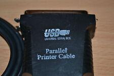 câble adaptateur USB vers port parallèle IEEE 1284 - 36 broches  pour imprimante