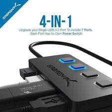 Commutateur 4 Port USB 2.0 / 3.0 Hub avec entrée individuel Switches and LEDS