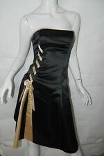 JESSICA McCLINTOCK for GUNNE SAX Dress Strapless Party Prom Dress Sz 3/4