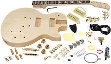 Solo LP Style DIY Guitar Kit, Carved Body, Set Neck, Rosewood FB, LPK-90