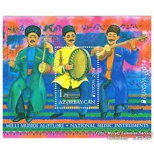 Aserbaidschan Azerbaijan Europa CEPT 2014, Musikinstrumente, Block ** postfr.