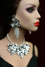 """Sybarite Numina Ficon Tonner FR16 dolls 16"""" jewelry necklace earrings"""
