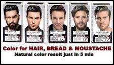 ELEA for MEN Professional Colour for Hair , Beard and Moustache Effect for 5 MIN