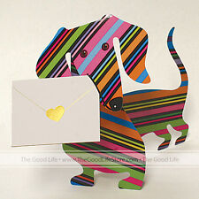 """3D Special Delivery Greeting Card - Dachshund  """"Dylan"""" - SD-040"""