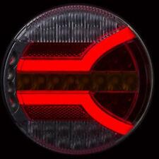 LED Rückleuchte Anhänger LKW BUS Sattelanhänger 12V 24V NEON 5 Funktionen rund