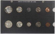 1958 UNITED STATES YEAR MINT SET BLACK HOLDER (002)