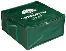 Richards Homewares Square Patio Furniture Cushion Compactor Storage Bag - Green