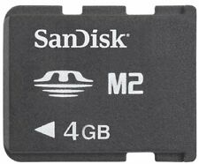 SanDisk 4GB M2 Memory Stick Micro Memory Card for Comaptible Sony Devices