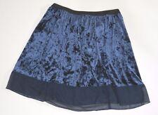 skirt womens medium Lottie and Holly Womens Blue Shiny Skirt  Size Medium