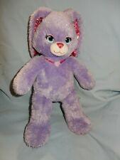 "Build A Bear Purple Sparkle Princess BUNNY RABBIT 17"""