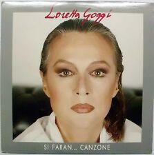 GOGGI LORETTA SI FARAN CANZONE STORIE ALL'ITALIANA RESTO DA SOLA LP 1991 MINT