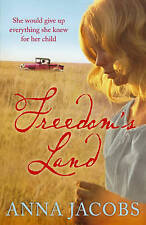 Freedom's Land by Anna Jacobs (Paperback) New Book