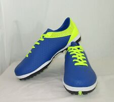 Harvesttime Soccer Shoes Size 12 45 Mens Indoor Athletic Blue Yellow