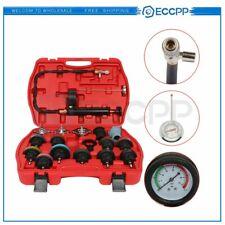 18pcs Car Cooling System Radiator Pressure Tester Water Tank Leak Detector