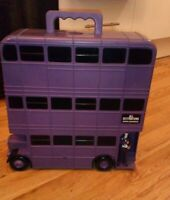 Harry Potter Knight Bus Action Figure Carry Case by Popco Stan Shunpike Figure