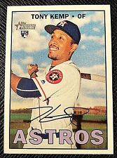 2016 Topps Heritage High Numbers TONY KEMP RC #652 Houston Astros Rookie NM QTY