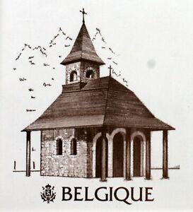 Belgium Trip / Travel Pope John Paul II Vatican Envelope PA492
