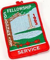 Vintage 1993 Colonneh Lodge 137 WWW Order Arrow OA Boy Scout America BSA Patch