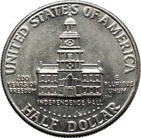 1976 President John F. Kennedy BICENTENNIAL Half Dollar Independence Hall i44881