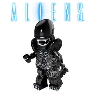 Alien Xenomorph Brick Compatible Predator Figure Kids Toy Collectible Yautja .