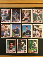 1989 OPC O-Pee-Chee Chicago White Sox Team Set 11 Cards