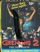 Gremlins 2 The New Batch Movie Closeout Card Box 36 Packs Topps