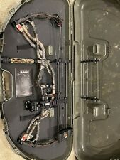 """Hoyt Carbon Element RKT XT Right Hand Bow 50-60lb with 26"""" Draw and a case"""