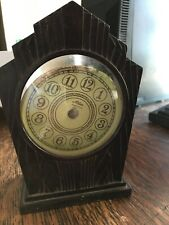 Atlas Mantle Clock Assembly Project (likely Bakelite)