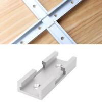 Aluminum Alloy T-Track T-slot Jig Guide Intersection Connector Parts Woodwork