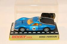 Dinky Toys 216 Ferrari Dino with brown interior in box all original condition
