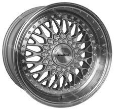 "17"" SDL Vintage Alloy Wheels Fits Bmw e21 e30 Chevrolet aveo corsa lanos 4x100"